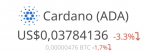 ADA (Cardano) in Coins & Tokens_index