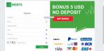 No Deposit $5 from Meefx Broker in Forex Advertisements_index